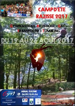 .Affiche RAZISSE 2017